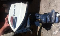evinrude fisherman outboard motor 6hp gear leaver has