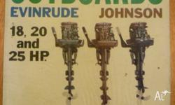 Evinrude Johnson 18 20 and 25 HP outboard motor