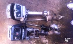 evinrude/johnson 6 hp outboard motor selling parts from