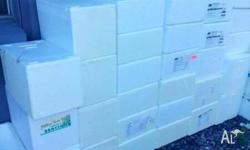 20, 30, 40 KILO FOAM BOXES WITH LIDS.... Pick up on
