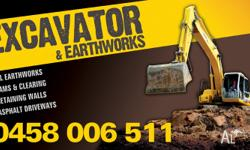 - � - EARTHWORKS & EXCAVATION - � - DAM CLEANING, DAMS