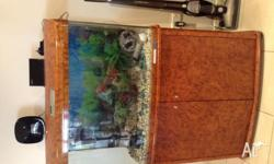 Beutiful in excelent condition fish tank for sale. For