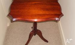 Excelent Mahogany Wine Coffee Table and Bueatfully