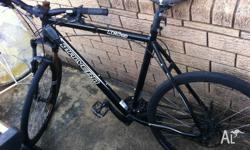 i sell my bicycle, its a marverd 360 xc 3,0, good