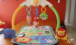 Fisher Price Discover N Grow Musical baby toy Mat