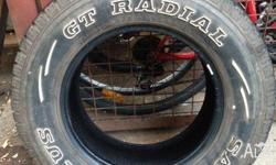 I have 1 tyre for sale 235-70-R16. excellent condition.