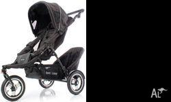 A Love n Care Europa pram with a toddler seat. Both the
