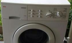Excellent working AEG 7 KG front loading washing