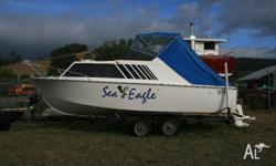 4 Berth Hartley 7.4metre Cabin Cruiser in exceptional