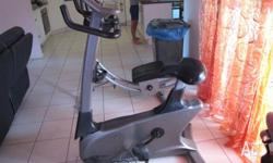 E3100 fitness bike, 1 year old. Hardly used