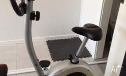 For sale exercise bike Good condition With didital