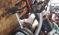 Vulcan exercise bike, digital display