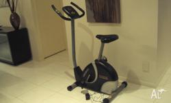 YORK exercise bike for sale, power operated in good