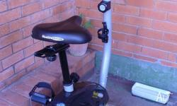 EXERCISE BIKE HEALTHSTREAM GOLD SERIES GALAXY.TOUCH PAD