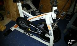 Exercise bike great condition fully functional, great