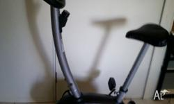 Exercise bike with computer (distance, calories, speed,