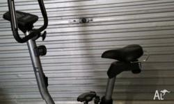 This sturdy Crane Sports exercise bike has easily