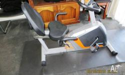 Recumbent Exercise Bike for sale. Has been only used 10