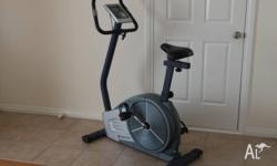 Roger Black AG-13203 Gold Exercise Bike 9 kg flay