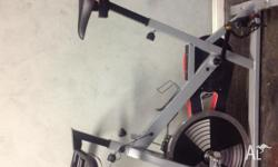 Only 6 months old near new condition spin bike with