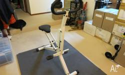 Two exercise equipment in great condition for quick