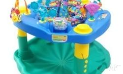 An Active Learning Center Your baby can bounce, swivel,