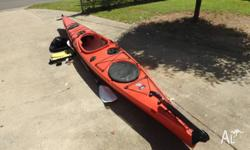 Seak Expedition Kayak. GC. Always stored inside and