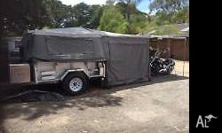Immaculate condition Ezy trail camper trailer. Only
