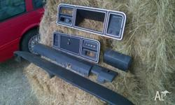 I have a set of parts for a mid 70s F100 dash panel,
