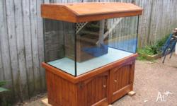 Hi I have got a 4 x 2 x 2 fish tank Cabinet & hood the