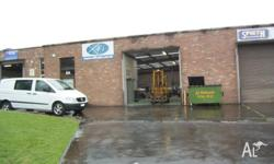 Centrally located factory/warehouse of approx 250sqm,