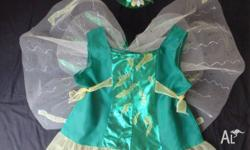 Costume: Green Fairy Tinkerbell Size 3 - 4 years: NEW