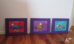 3 cute fairy prints perfect for a girls room sold