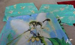 i have my daughters quilt and curtain set, selling due