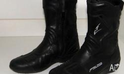 Quality Leather Boots size 35 (approximately ladies