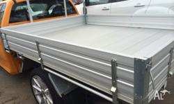 Vertually new aluminium tray to suit ford falcon cab