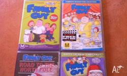 Family guy series 1,2,3,4 Also Road to North Pole Happy