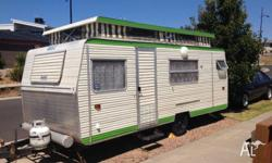 I am selling this 1983 Pacific pop top Caravan with 3