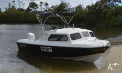 A great boat for family fun or fishing, has happily