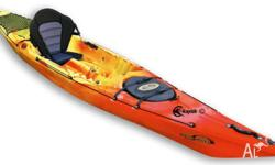 Included in this package is the Touring Kayak plus the