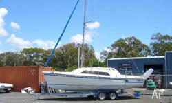 This Farr 7500 has been fitted with a Volvo Penta