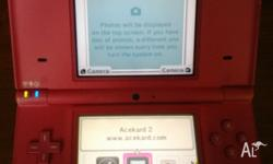 Pink DSi with fault Occassionly says an error has
