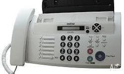 FAX-878 Introducing Brother�s newest fax machine, the