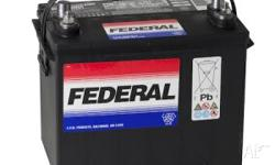 Federal Marine start Battery 550 cca, Boat Accessory,