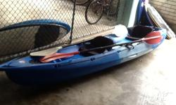 Excellent condition, comes with 2 seats, 2 paddles,