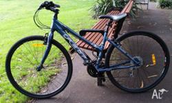 A great looking upright woman's bicycle, easy to ride,