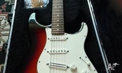 Fender American Standard stratocaster in new condition,