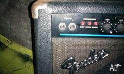 made in the US this old tube amp has 100 watts of