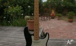 Fender Stratocaster, Mid 90s USA, black with maple