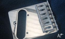 6 sattle Telecaster chrome bridge ( from a Mexican